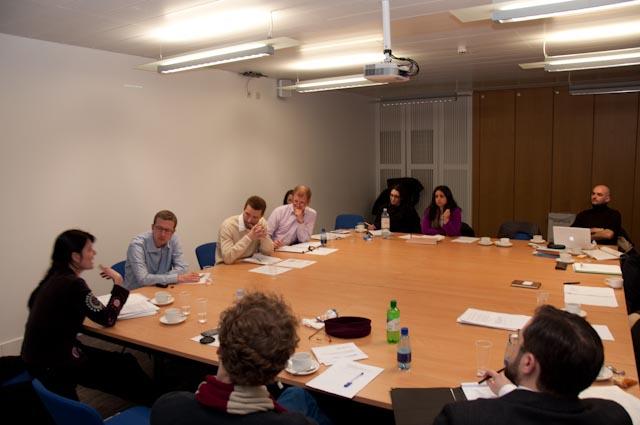 Participants at St Andrews workshop